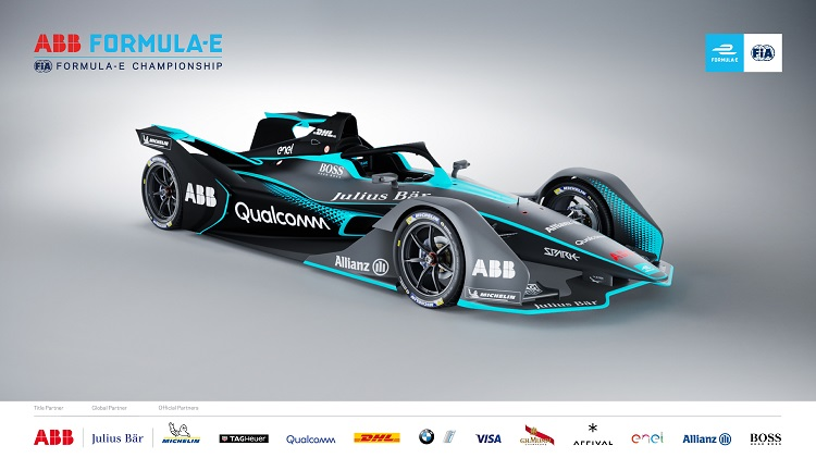 Sublime Fast And Driven By Electricity The Formula E Racing Car That Is To Be Presented Abb Company